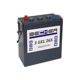 Аккумулятор Becker 3GEL265 ( 6V 265Ah / 6В 265Ач ) - фотография