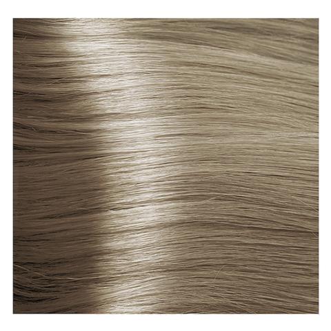 Крем краска для волос с гиалуроновой кислотой Kapous, 100 мл - HY 9.1  Очень светлый  блондин пепельный