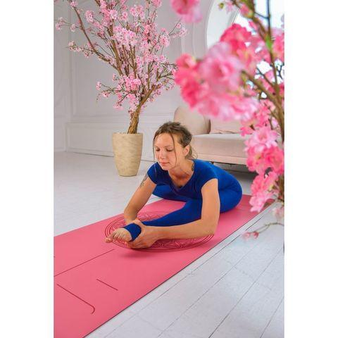 Каучуковый йога коврик Flower of Life  185*68*0,2-0,4 см