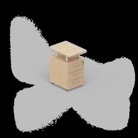 Приставная тумба (3 ящика)