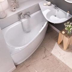 Акриловая ванна Ravak AVOCADO CQ01000000 160х75 L белая