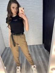 штаны карго джоггеры женские nadya
