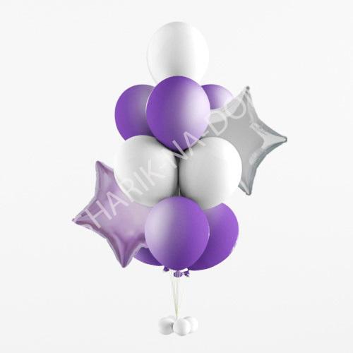 Оформление шариками 1 сентября Сиреневый фонтан из шаров Сиреневый_фонтан_из_шаров.jpg