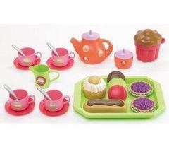 Smoby Набор чайный сервиз с пирожными , 33 пр.(2615)
