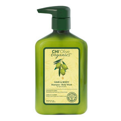 CHI Olive Organics Shampoo Body Wash Hair & Body - Шампунь и гель для душа