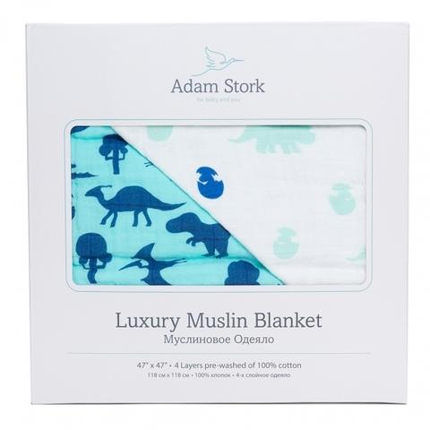 Муслиновое одеяло Adam Stork Dino World