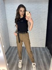 штаны карго джоггеры женские недорого