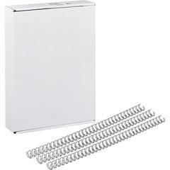 Пружины для переплета металлические Promega office 9.5 мм черные (100 штук в упаковке)