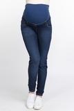 Джинсы для беременных (SLIM) 10742 синий