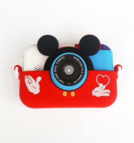 Детский цифровой фотоаппарат Микки Smart Kids Camera 4 Series MIKKI красный