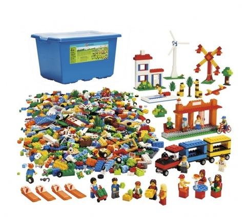 LEGO Education: Городская жизнь 9389 — Community Starter Set — Лего Образование