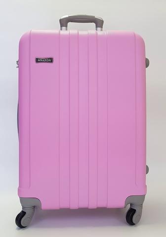 Чемодан Ananda 533 Розовый L