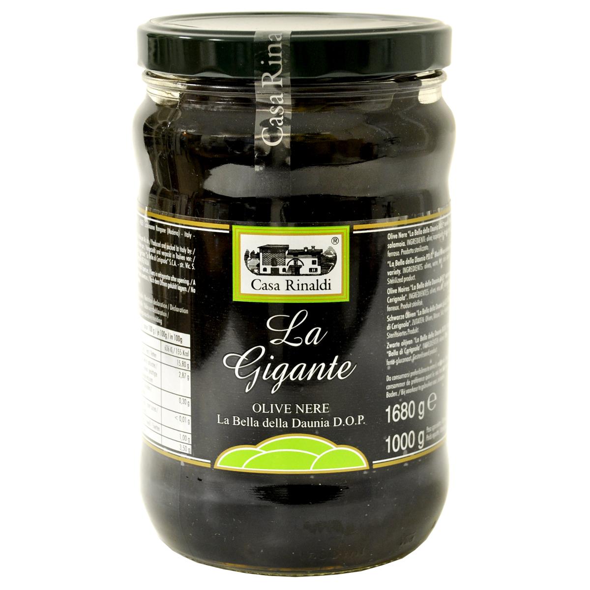 Маслины Casa Rinaldi гигантские GGG 1680г