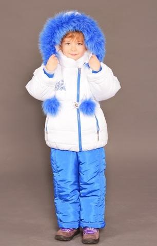Зимний комбинезон-костюм Princess белый
