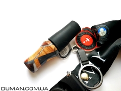 Персональный мундштук AMY Deluxe силиконовый Soft-Touch для кальяна