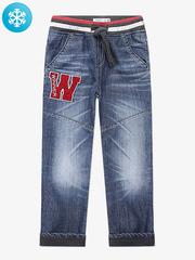 BWB000057 джинсы для мальчиков утепленные, медиум