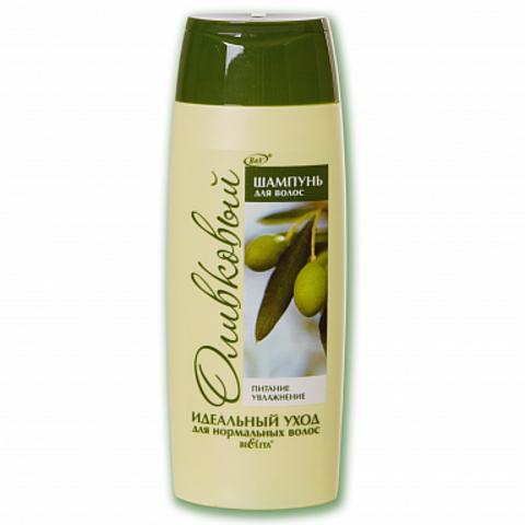 Белита Оливковая Шампунь для нормальных волос оливковый Питание & Увлажнение 500мл