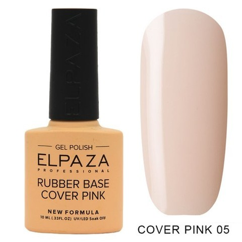 Elpaza Rubber Base Cover Pink, 05