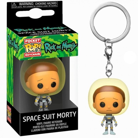Морти в скафандре - Рик и Морти || POP! Keychain Space Suit Morty