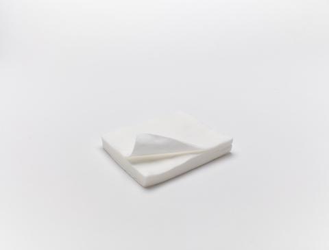 Салфетки (Спанлейс, белый, 5х5 см, 100 шт/упк, стандарт)