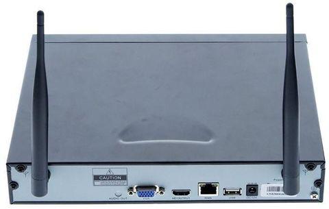 Набор для видеонаблюдения wi-fi 4 камеры + регистратор HD NVR Kit