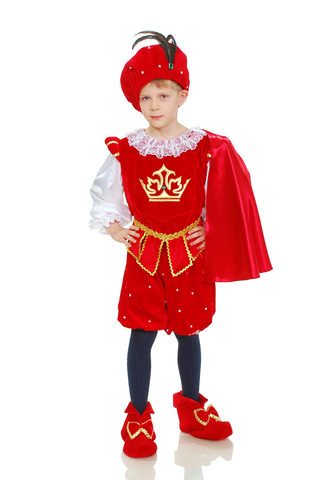 Костюм Принц в красном