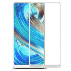 Защитное стекло 5D для Xiaomi Mi Mix 2/2S, полный экран белое/черное