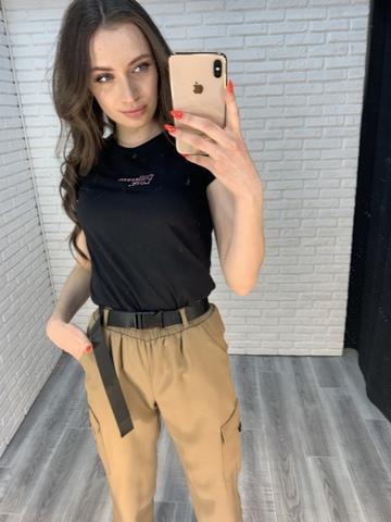 штаны карго джоггеры женские оптом