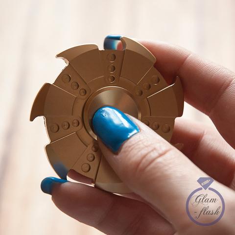 Спиннер из металла сюррикен цвет золото 17027M