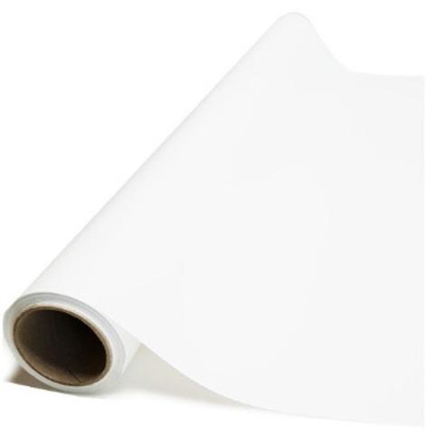 Пленка матовая (размер:65см х 10м), цвет: белая