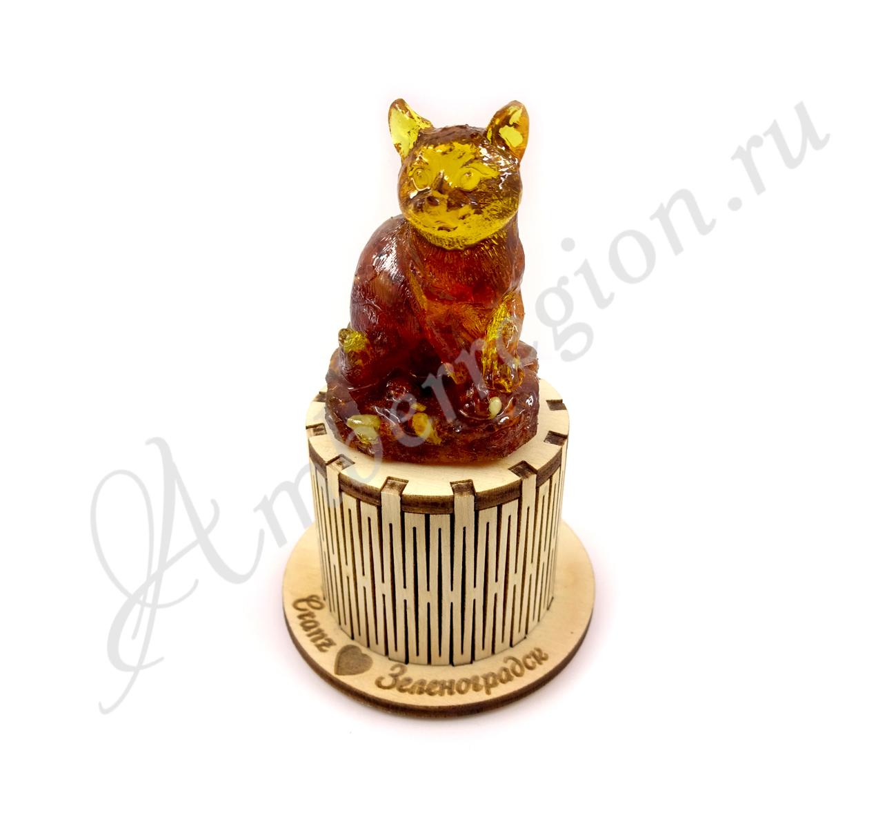 Кот на светящейся подставке (10 шт.)