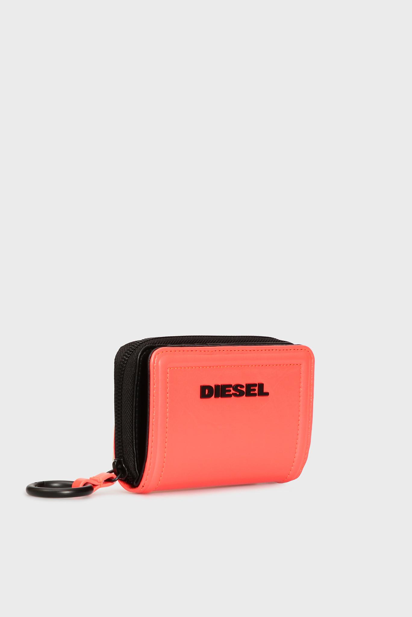 Женский красный кожаный кошелек BUSINESS Diesel