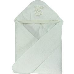 Папитто. Конверт-одеяло велюр с вышивкой, экрю вид 1