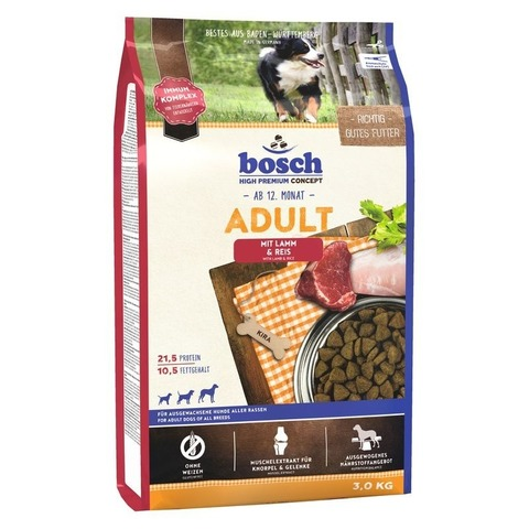 Bosch Adult Lamb & Rice 3 кг