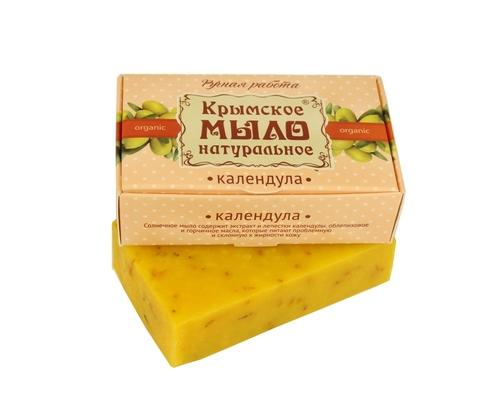 МДП Крымское натуральное мыло на оливковом масле КАЛЕНДУЛА, 100г