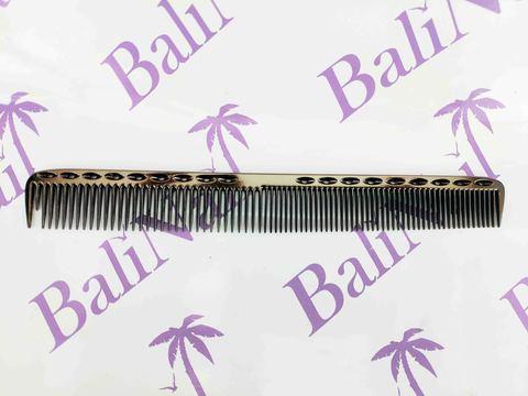 Расчёска профессиональная металлическая (черная)