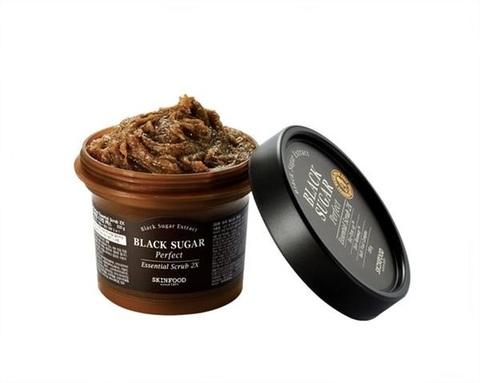 Скраб SKINFOOD Black Sugar Perfect Essential Scrub 2X 210g