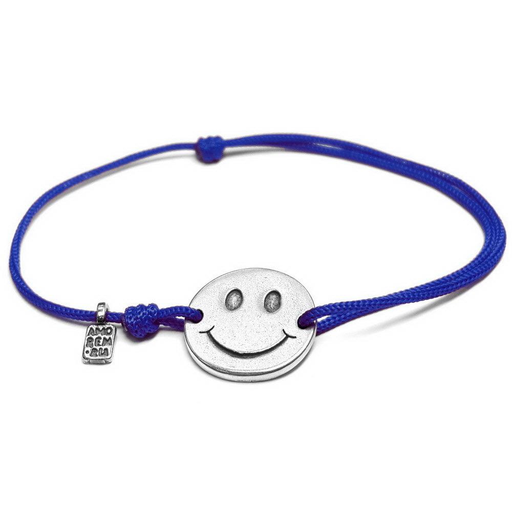 Smiley bracelet, Sterling Silver