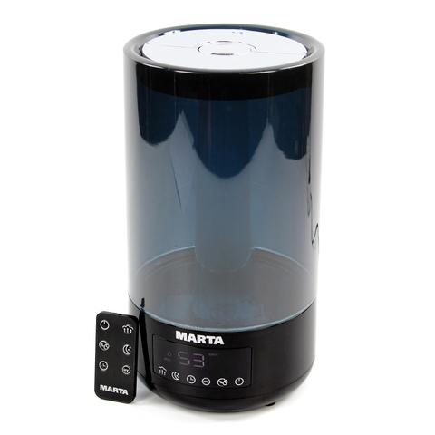 Увлажнитель воздуха MARTA MT-2696 черный жемчуг