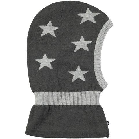 Детская шапка шлем Molo Snow Pirate Black