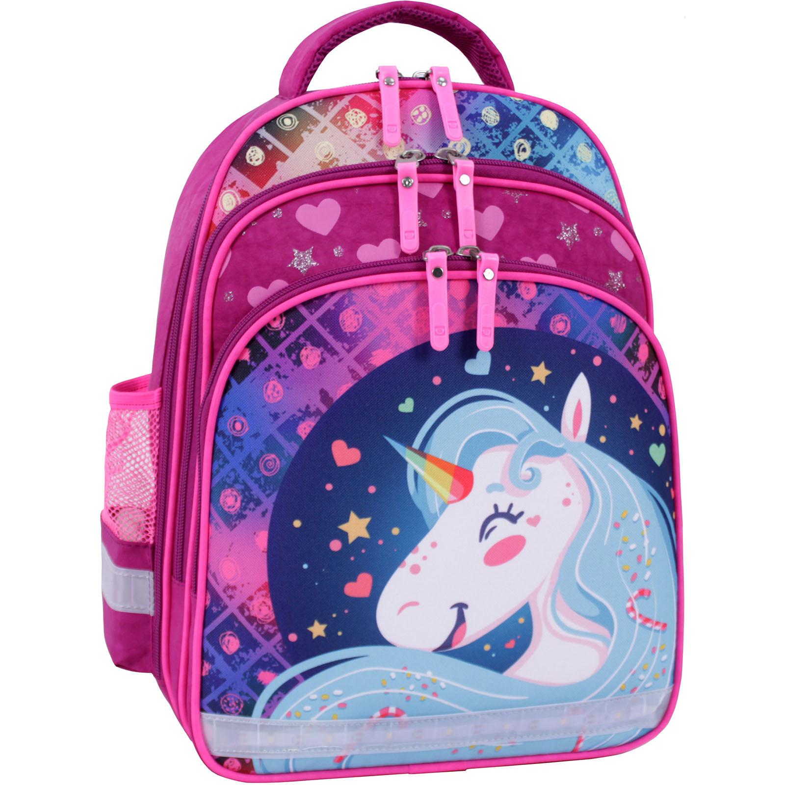 Детские рюкзаки Рюкзак школьный Bagland Mouse 143 малиновый 504 (0051370) IMG_9748_ceб.504_.JPG