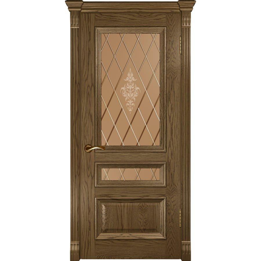 Межкомнатные двери Межкомнатная дверь шпон Luxor Фараон 2 светлый морёный дуб остеклённая faraon-2-do-svetliy-dub-moreniy-dvertsov.jpg