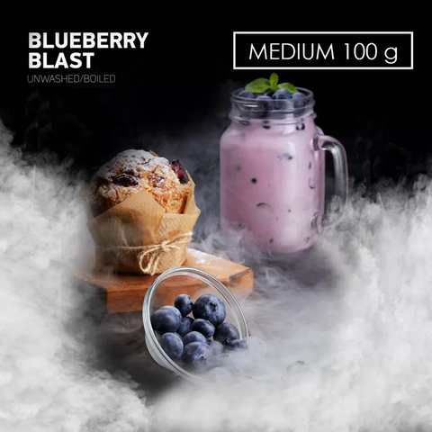 Табак Dark Side 100 г MEDIUM BLUEBERRYBLAST
