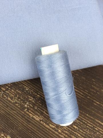 Нитки Dor Tak 287, голубой