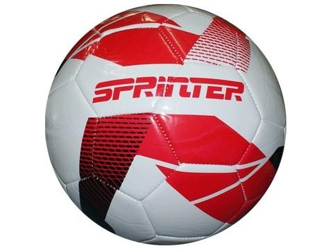 Мяч футбольный. Материал: ПВХ, резина. Машинная сшивка панелей. FT-SPR30