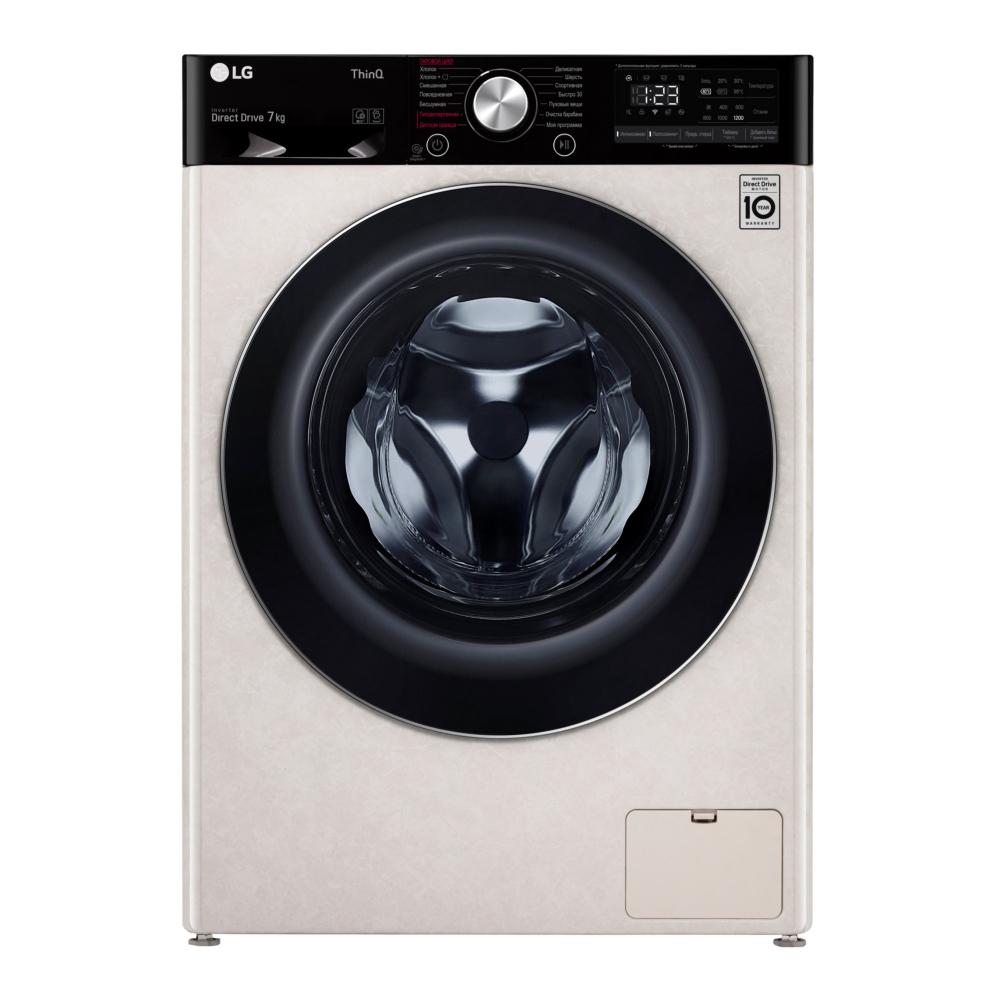 Узкая стиральная машина LG AI DD F2V5HS9B фото