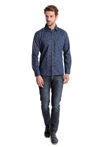 Рубашка мужская  M522-05C-61PC