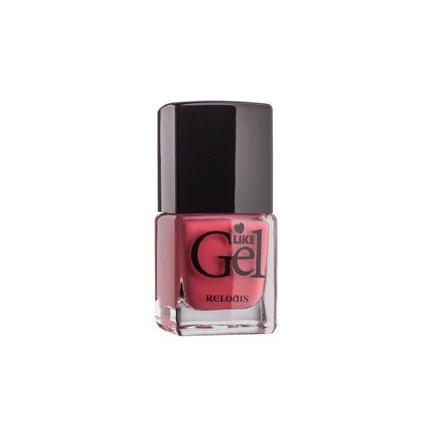 Relouis Like Gel Лак для ногтей с гелевым эффектом тон №15 (сочный персик) 6г