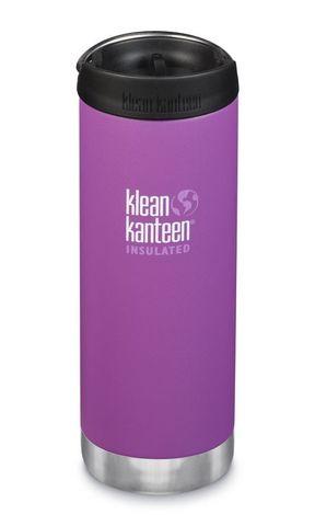 Термобутылка Klean Kanteen TKWide Cafe Cap 16oz (473 мл) Berry Bright