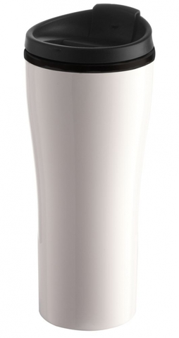 Maybole Travel Mug, white